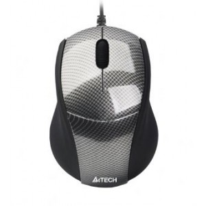 Mouse A4TECH; model: N-100; NEGRU; USB