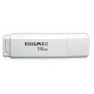 USB STICK KINGMAX; model: KM16GPD07W; capacitate: 16 GB; interfata: 2.0; culoare: ALB