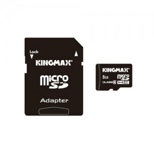 MICRO SD-HC KINGMAX, 8 GB