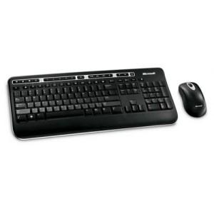Kit Tastatura + Mouse MICROSOFT, negru