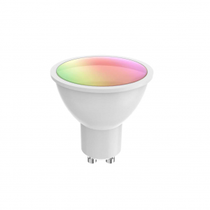 Bec LED Smart WiFi Woox R9076, GU10, 5.5W, Color