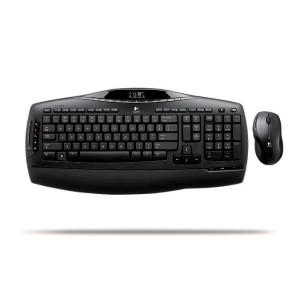 Kit Tastatura + Mouse LOGITECH model MX 3200 layout SPN NEGRU USB WIRELESS MULTIMEDIA