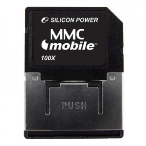 MMC SILICONE POWER; model: SP002GB, : 2 GB
