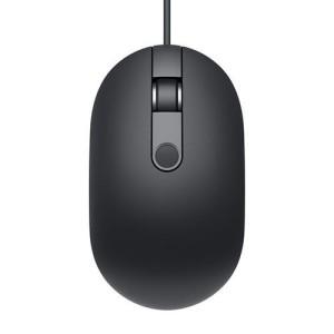 Mouse DELL cu cititor amprenta, model: MS819, NEGRU, USB