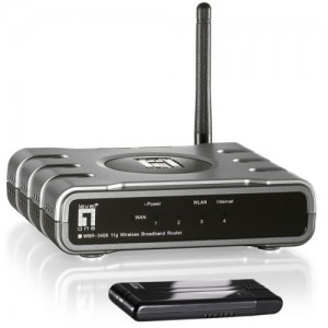 ROUTER LEVEL ONE; model: WSK 1000