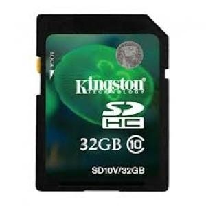 SD-HC CARD KINGSTONE, SD10V/32GB
