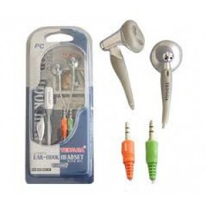 CASCA CU MICROFON TENGJIA; model: TJ0161M; GRI; in-ear;