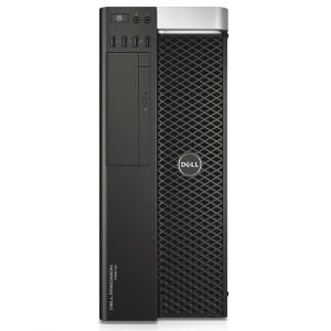 Dell, PRECISION T5610, Intel Xeon E5-2620 v2, 2.10 GHz, HDD: 500 GB, RAM: 16 GB, video: nVIDIA Quadro K600