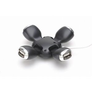 GEMBIRD HUB; USB 2.0 F la 4xUSB 2.0 M