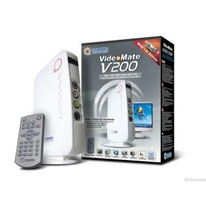 Tuner TV COMPRO V200 (telecomanda); EXTERN
