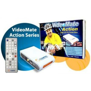 Tuner TV VIDEOMATE ACTION (telecomanda); USB;