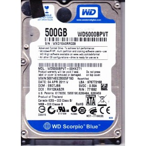 HDD 500 GB