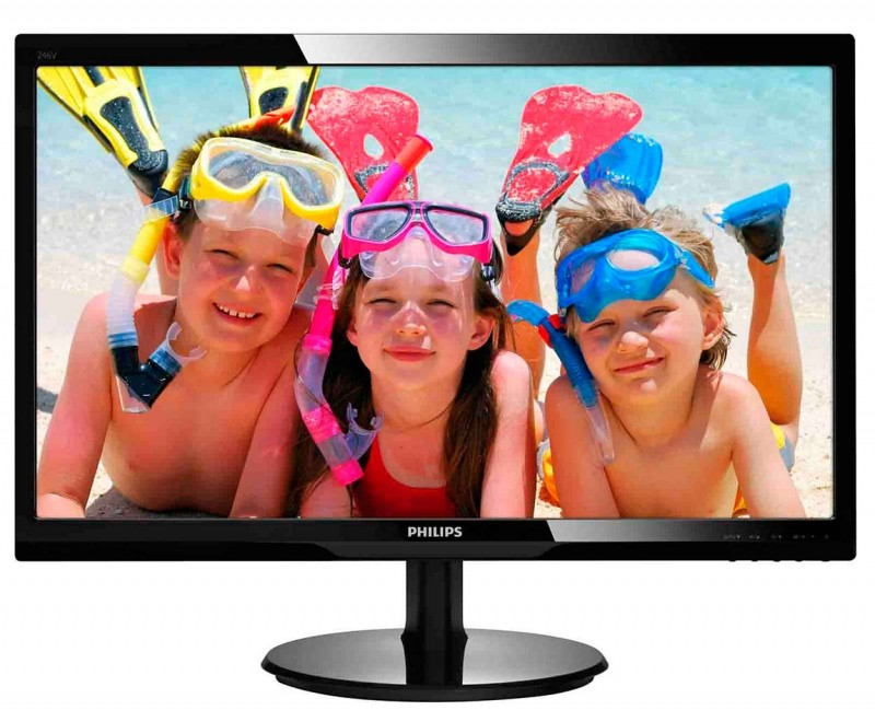 "MONITOR PHILIPS 24"" LED, 1920x1080, 5ms, 250cd/mp, vga+hdmi (246V5LHAB/00)"
