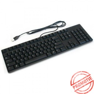 Tastatura DELL layout NOR NEGRU USB
