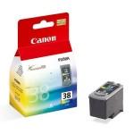 Cartus cerneala Original Canon CL-38 Color, compatibil Pixma iP1800, iP2500, 3 x 3 ml (BS2146B001AA)