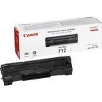 Toner Original pentru Canon Negru CRG-712, compatibil LBP3010/3100, 1500pag (CR1870B002AA)