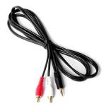 Cablu audio; JACK 3.5 M la 2xRCA M; 5m