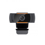 Webcam cu microfon Well 101BK-WL, Full HD 1080p