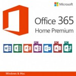 Licenta Cloud Microsoft Office 365 Home Premium English Subscriptie 1 an 5 Users
