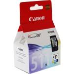 Cartus cerneala Original Canon CL-511 Color, compatibil MP240/MP260, 244 Copies (BS2972B001AA)