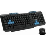 Kit Tastatura + Mouse LogiStep LSDK-5181, USB, Negru