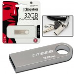 USB STICK KINGSTON; model: DTSE9H/32GB DATATRAVEL; capacitate: 32 GB; interfata: 2.0; culoare: GRI