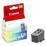 Cartus cerneala Original Canon CL-41,  Color, compatibil iP1600/iP2200/MP150/MP160/MP170/MP180/MP210/MP220, 3 x 4 ml (BS0617B001AA)