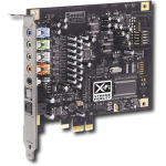Placa de sunet CREATIVE model: X-Fi SB0880 (5.1); PCI-E