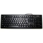 Tastatura A4TECH; model: KR-85; layout: US; NEGRU; USB
