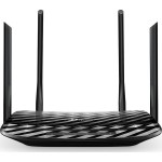 ROUTER TP-LINK, model: AC1200 ARCHER C6, MANAGEMENT, WIRELESS, PORTURI: 4x GBIC 10/100/1000