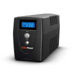 UPS CyberPower, model: Value600EILCD 600VA/360W, format: TOWER