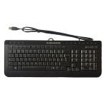 Tastatura ALIENWARE, layout: elvetiana, Multimedia, USB, Negru
