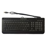 "Tastatura ALIENWARE; layout: NOR; NEGRU; USB; MULTIMEDIA; ""0CHTVD"""