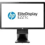 "Monitor HP; 22""; model: E221c; factory refurbished"