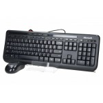 Kit Tastatura + Mouse MICROSOFT; model: DESKTOP 600; layout: US; NEGRU; USB; MULTIMEDIA