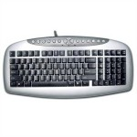 Tastatura A4TECH; model: KB-21; layout: US; NEGRU; USB; KB-21 USB""""