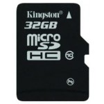 MICRO SD CARD KINGSTON; model: SDC10/32GB; capacitate: 32 GB; clasa: 10; culoare: NEGRU