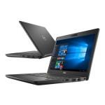 Laptop DELL, LATITUDE 5290,  Intel Core i5-8350, 1.70 GHz, HDD: 256 GB, RAM: 8 GB, webcam