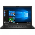Laptop DELL, LATITUDE 5590,  Intel Core i5-8350U, 1.70 GHz, HDD: 128 GB, RAM: 4 GB, webcam