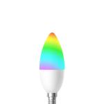Bec LED Smart WiFi Woox R5076 E14 4.5W Color