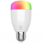 Bec LED Smart WiFi Woox R5085 Diamond, E27, Color