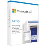 Microsoft 365 Family, subscriptie 1 an, 6 utilizatori