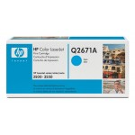 Cartus: HP Color LaserJet 3500, 3550 Series WITH CHIP - Cyan