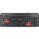 Tastatura A4TECH; model: G300; layout: US; NEGRU; USB; X7""""