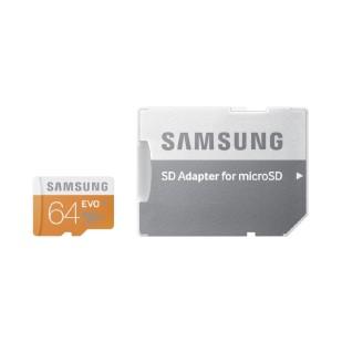 MICRO SD CARD SAMSUNG; model: MB-MP64DA/EU; capacitate: 64 GB; clasa: 10