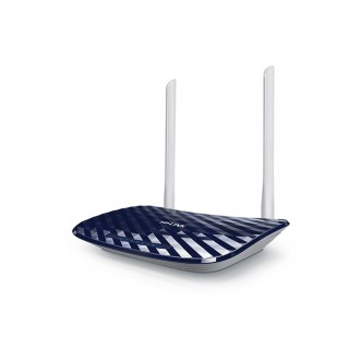 ROUTER 4 PORTURI WIRELESS,  AC750, Dual Band, 2x ant., USB (Archer C20)