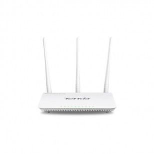 Router 3 Port-uri Wireless N 300Mbps. High Power, 3 antene det. (3*5dBi), TENDA (FH303D)