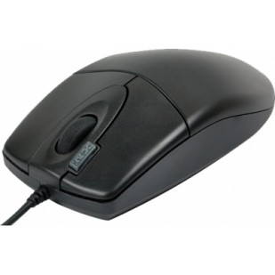 Mouse optic USB A4TECH Black (OP-620D-U1), wired cu 3 butoane (buton 2xClick) si 1 rotita scroll, rezolutie sub 1000dpi