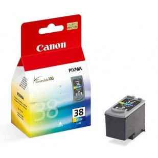 Cartus cerneala Original Canon CL-38 Color, compatibil Pixma iP1800, iP2500, 3 x 3 ml (BS2146B001AA)