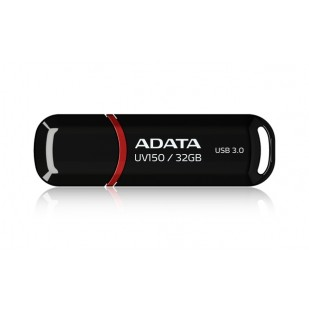 USB Stick ADATA UV150 32GB USB 3.0, Black (AUV150-32G-RBK)